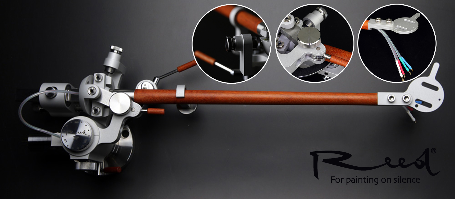 Reed turntables - tonearms