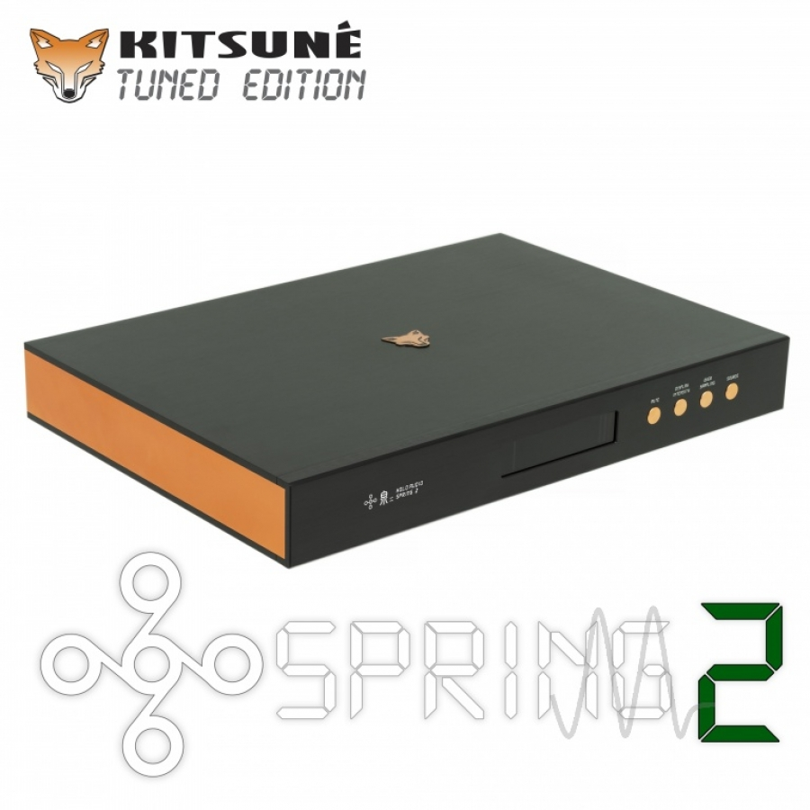 "Holo Audio - Spring II DAC Level 3 ""Kitsune Tuned Edition"" (R2R - DSD1024)"