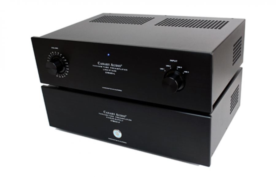 C1600 MK II Two Chassis Preamplifier